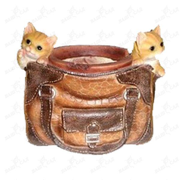 Кашпо сумка с котятами купить.